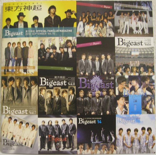 5人で活動してた時の最後の会報誌は、来日した2004年11月23日から30th Single『時ヲ止メテ』発売時の2010年3月24日までのバイオグラフィー