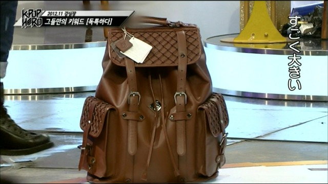 チャンミン様のバッグはまるで四次元ポケット!あんまものやこんなものまで入ってるんです(笑)