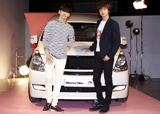 東方神起ユノとチャンミンの愛車が知りたい!