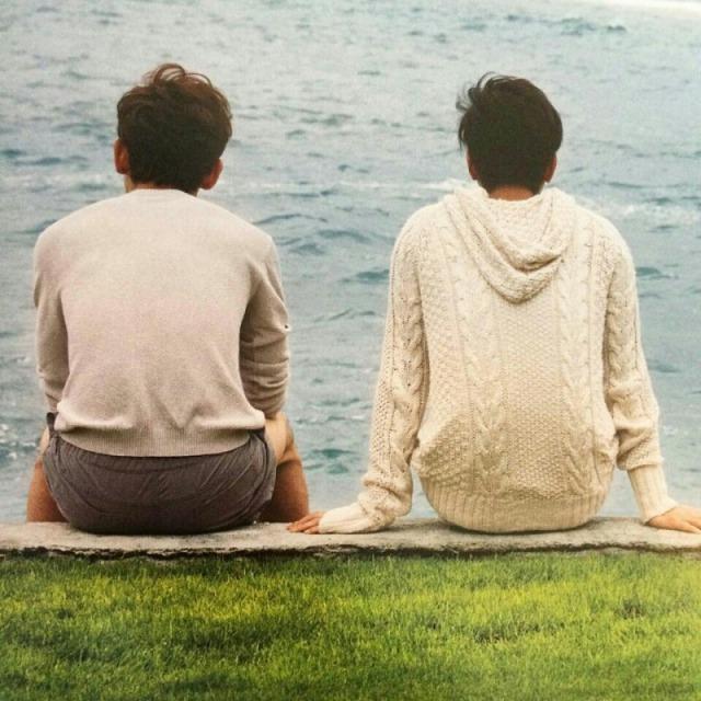 東方神起ユノとチャンミンの後ろ姿画像集♪