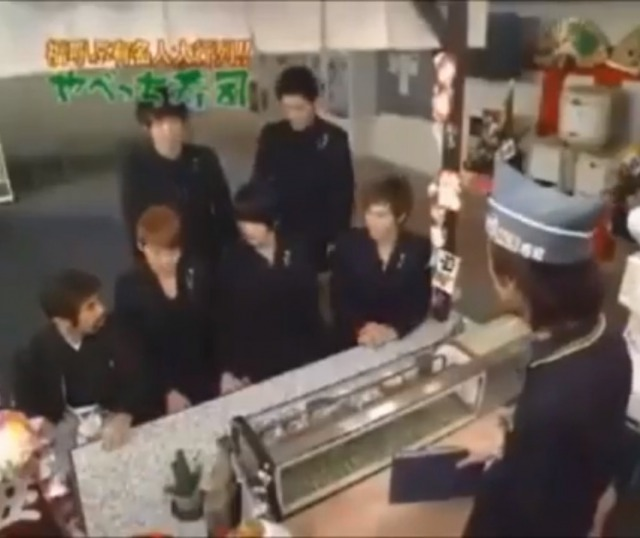 東方神起めちゃイケ『やべっち寿司』出演!オカ神起が面白すぎ!