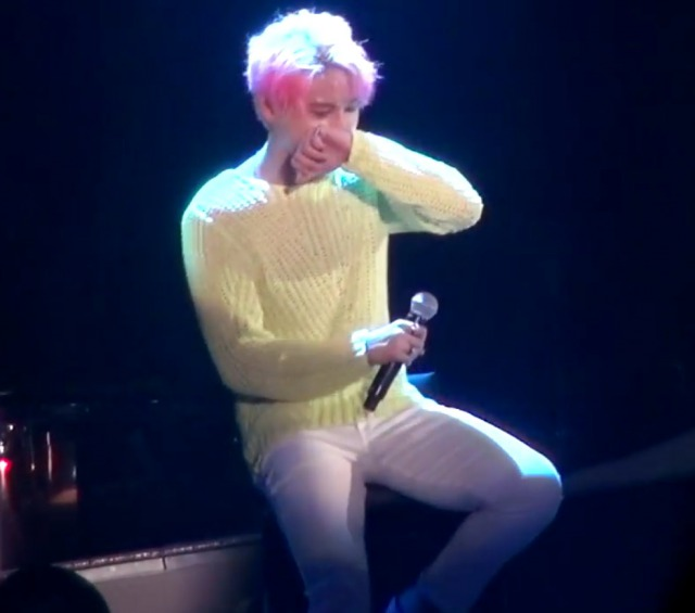 JYJジュンスがコンサートで歌った東方神起メドレーのセトリ