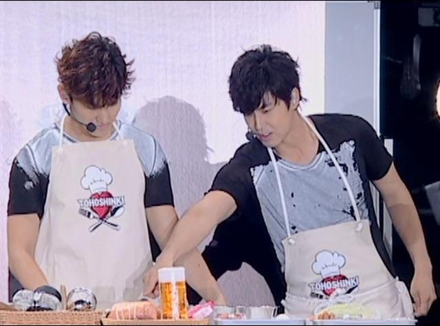 東方神起ユノとチャンミンの料理の腕前はいかほど?