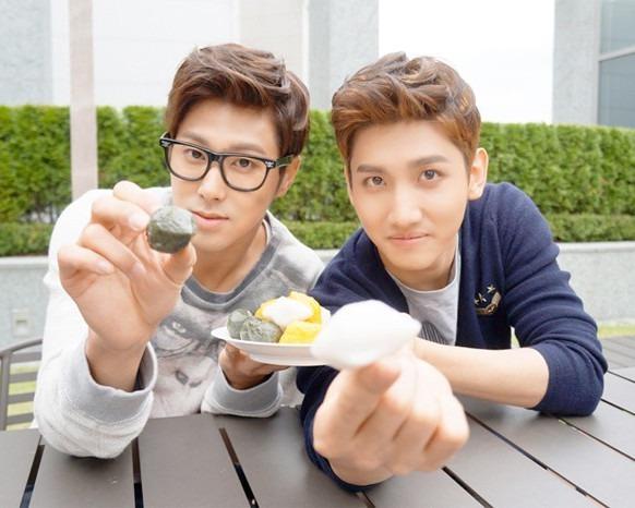 東方神起ユノとチャンミンの好きな食べ物はなぁに?